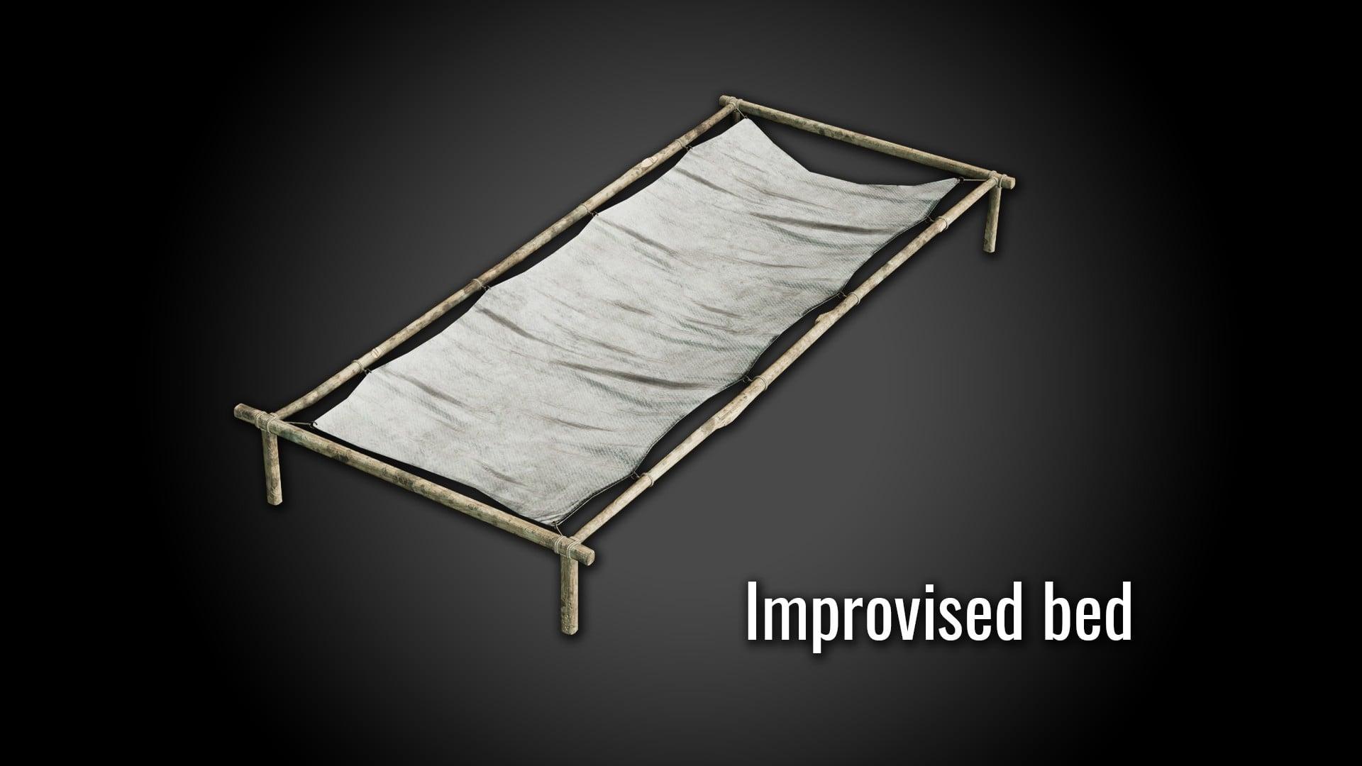 Импровизированная кровать