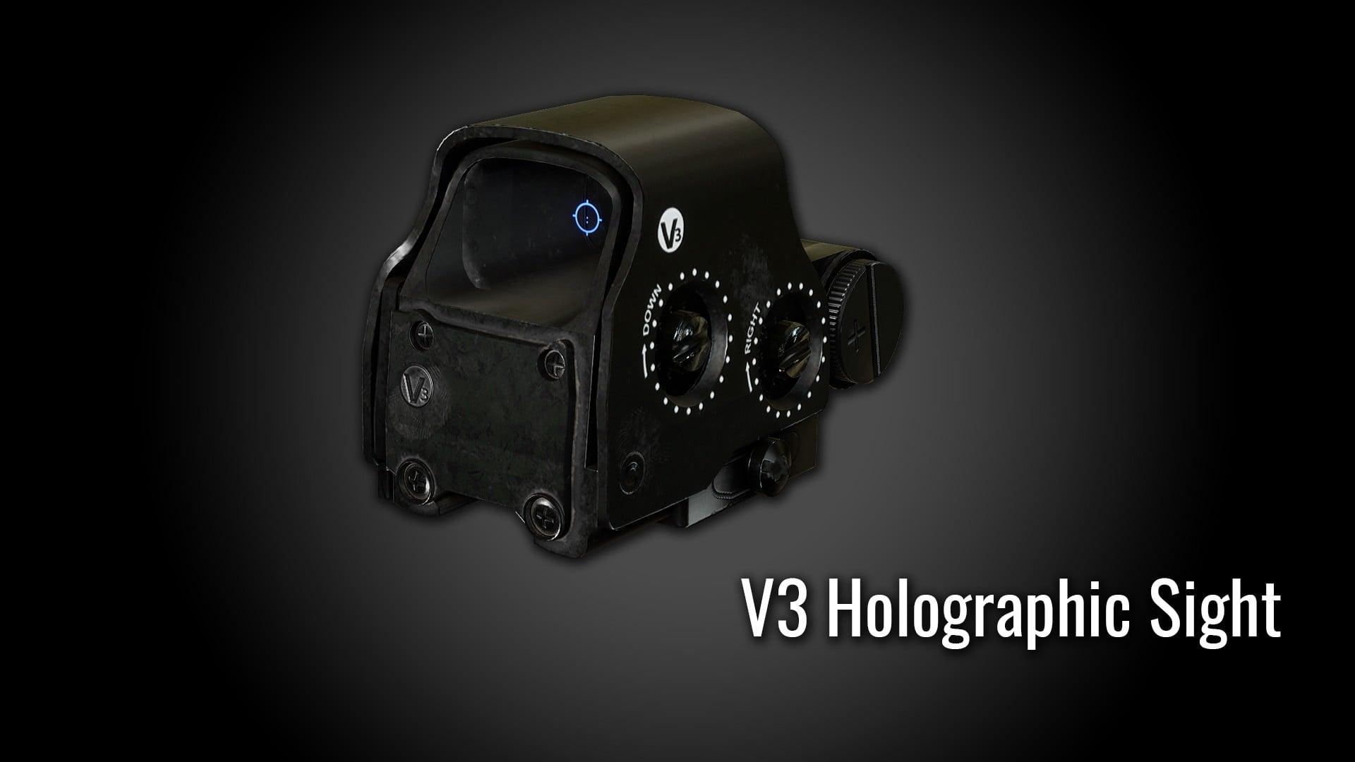 V3 Holographic Sight