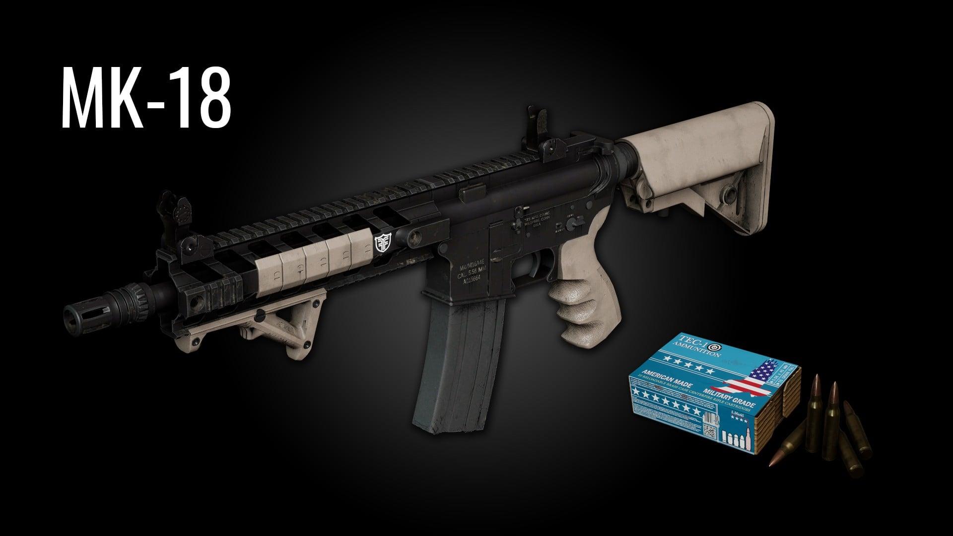 Новая винтовка MK-18