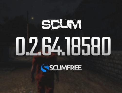 SCUM Патч 0.2.64.18580